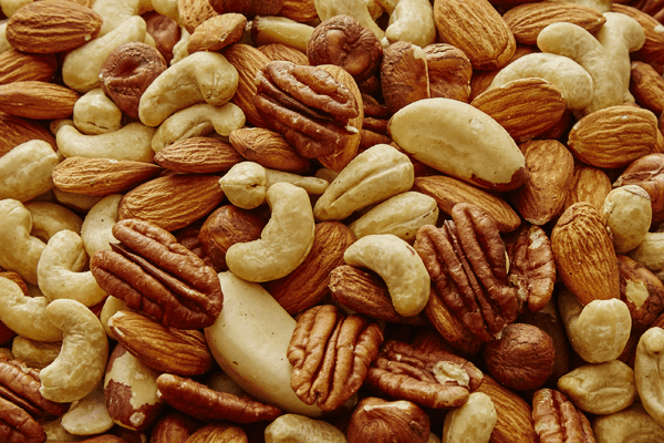 how much calories in nuts?