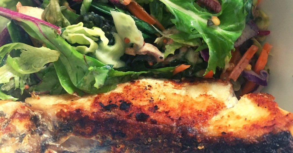 high protein ranch dressing with fish