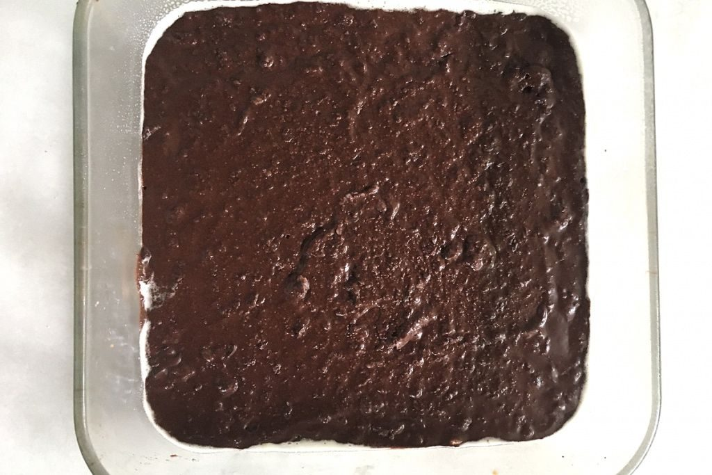 low carb choc on glass tray