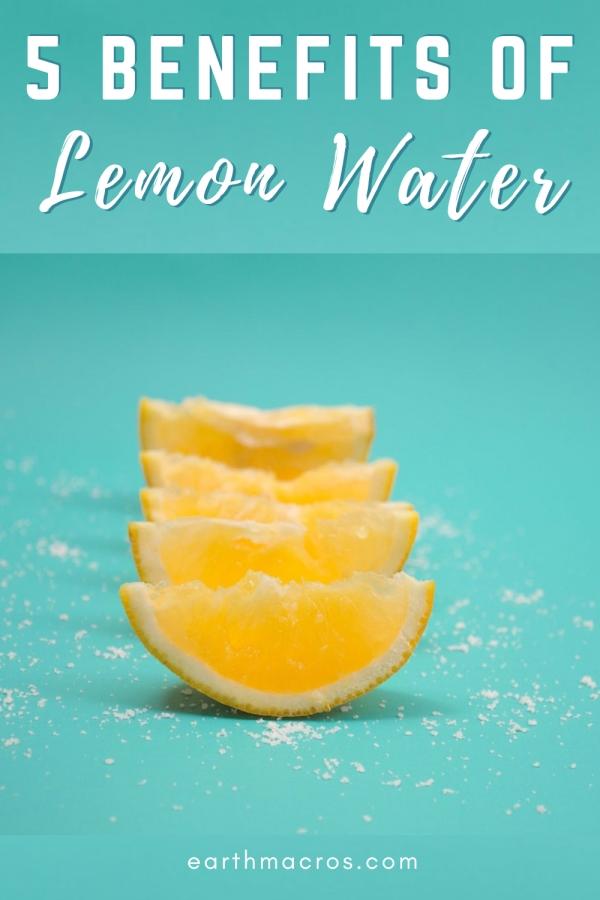 5 benefits of lemon water