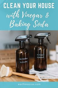 clean your house with vinegar and baking soda
