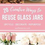 Reuse Glass Jar ideas - Upcycle & Decorate Them With These Ideas