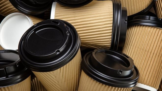 Disposable coffee cup waste facts