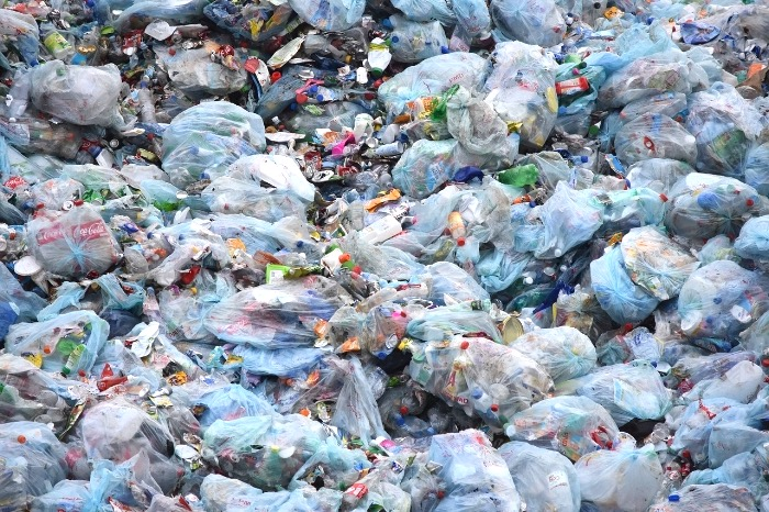 plastic bag waste data in Australia