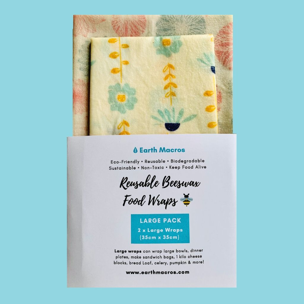 Buy Beeswax wraps large size discount Australia
