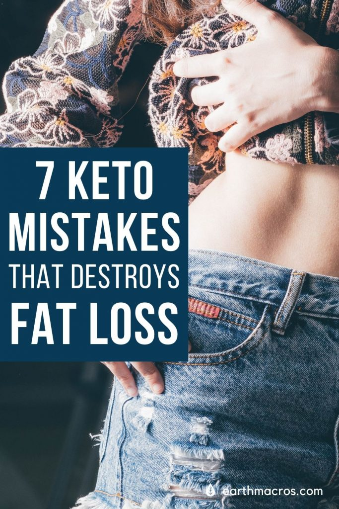 7 MISTAKES Women Make On The Ketogenic Diet & Destroys fat lossjpg