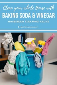 Clean Your Whole House With Vinegar & Baking Soda With This Cleaning Guide!