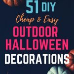 51 Cheap & Easy DIY Halloween Decorations For Outdoor