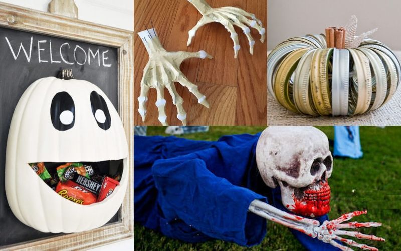 51 Outdoor Halloween Decoration Ideas List