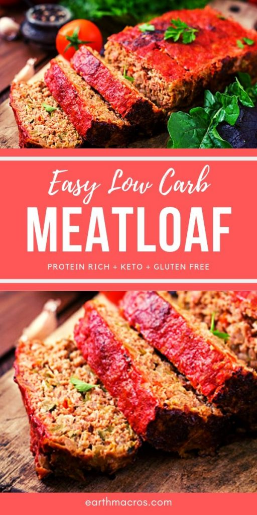 Easy Low Carb Meatloaf recipe - Best Ever
