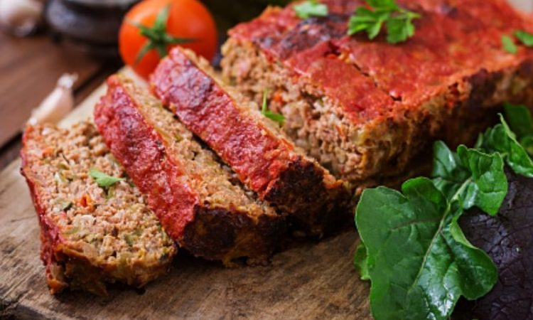 Easy Low Carb meatloaf recipe 2lbs