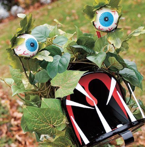 mailbox goblin Halloween diy outdoor decoration