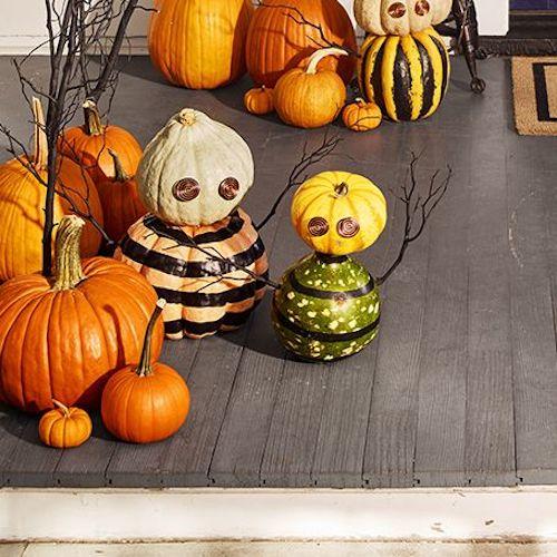 monster mashup halloween diy pumpkin outdoor decoration